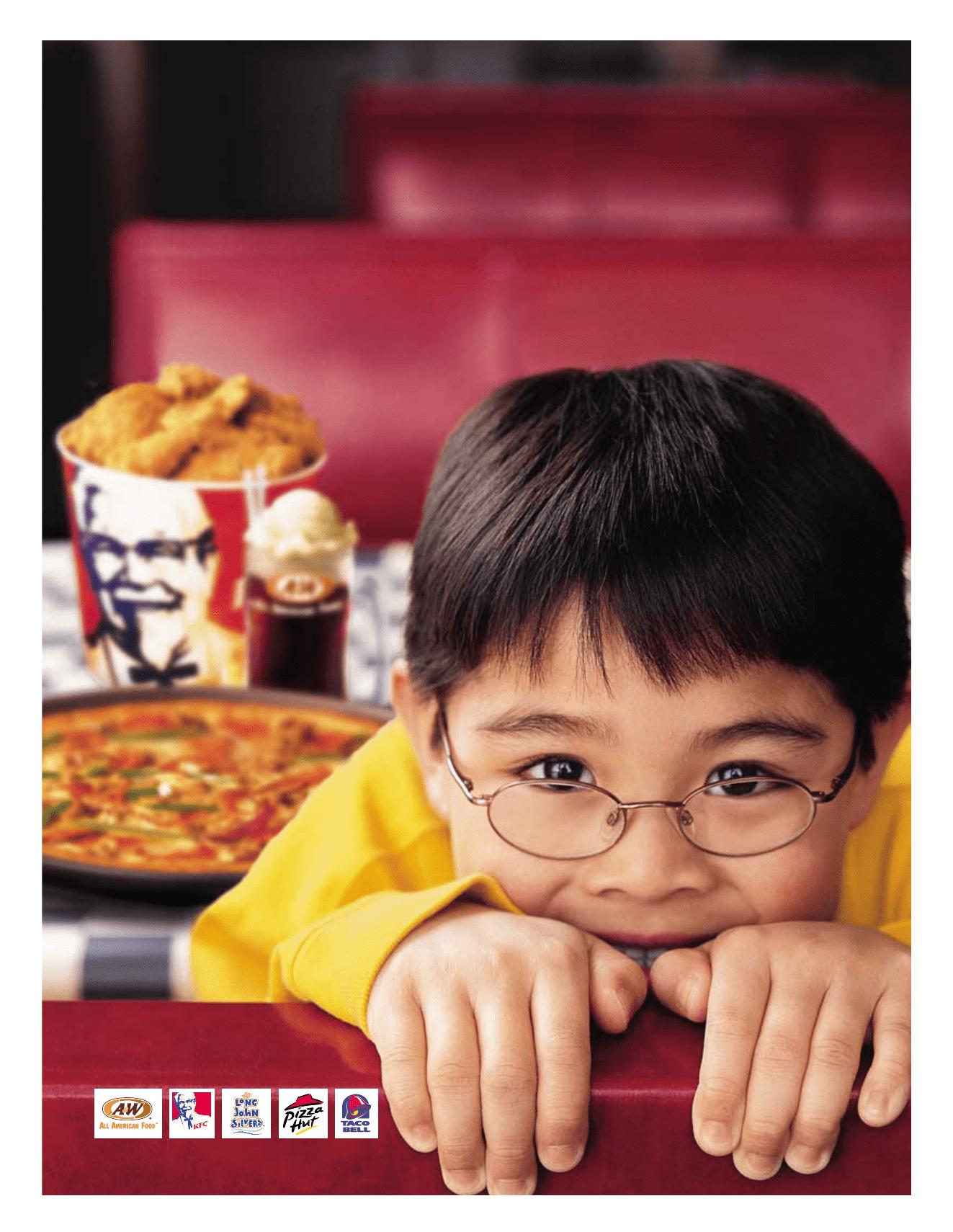 Pizza hut annual report